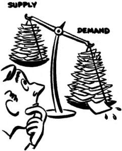Supply and Demand Cartoon